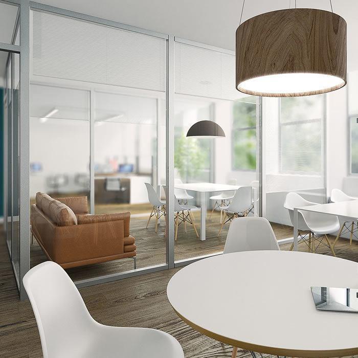 rendering interni architettura biosostenibile