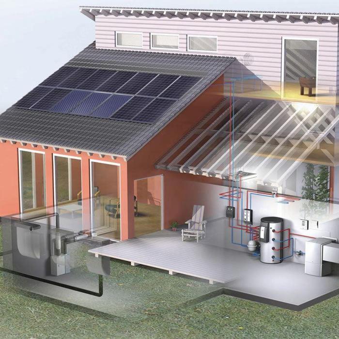 ottimizzazione energia e qualificazione energetica bioarchitettura edilizia sostenibile
