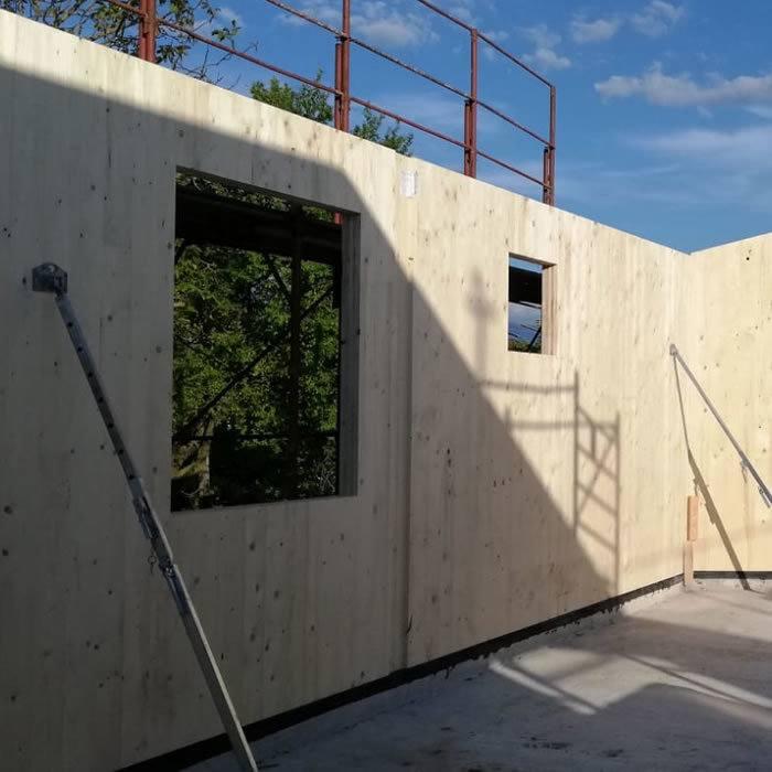 edificazione casa prefabbricata in legno a verona